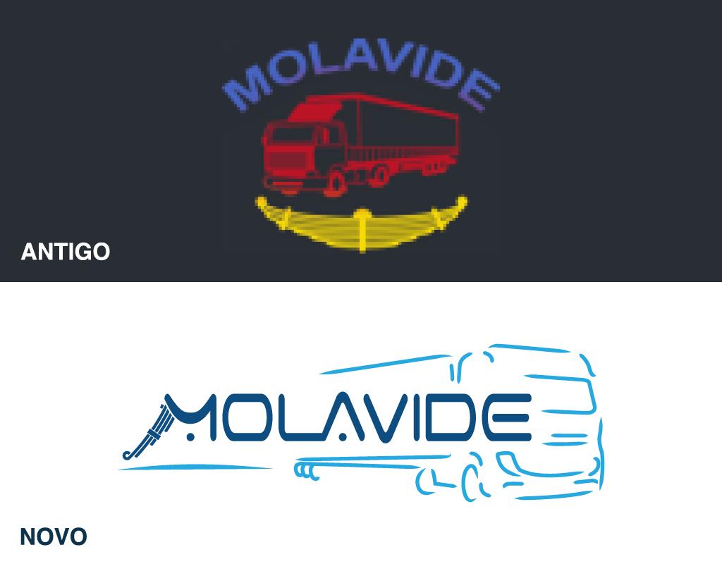 rebrand logotipo Molavide